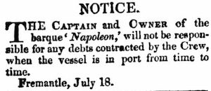The Perth Gazette and Western Australian Journal (WA : 1833 - 1847) Sat 7 Aug 1841 Page 1