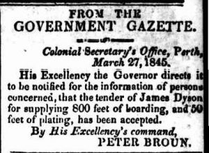 The Perth Gazette and Western Australian Journal (WA : 1833-1847) Saturday 29 March 1845 page 3