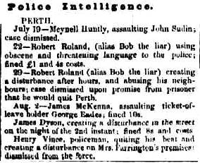 Inquirer, Wednesday 11 August 1852 p 3