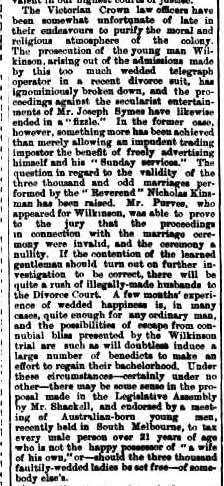 Launceston Examiner Saturday 7 November 1885 p1S